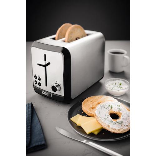 Krups KH3110/10 - Toaster Stainless Steel