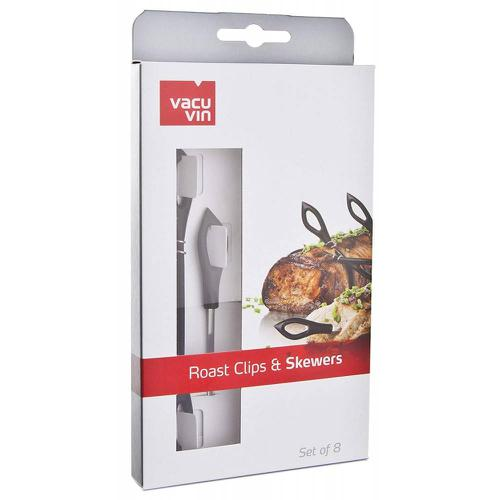 Vacuvin - Roast Clips And Skewers