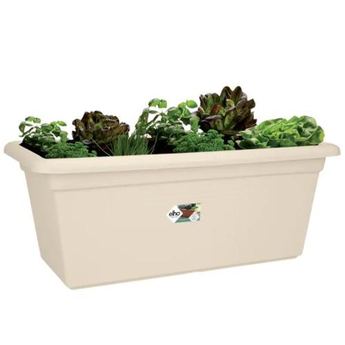 Elho 9113467845300 - Green Basics Garden Xxl 80 - Planter - Cotton White - Outdoor
