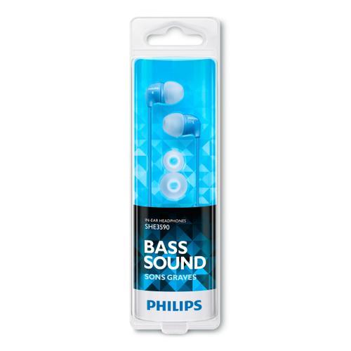 Philips In-Ear Headphones SHE3590BL/10