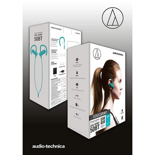 Audio-Technica ATH-SPORT50BT - SonicSport Bluetooth Headphone