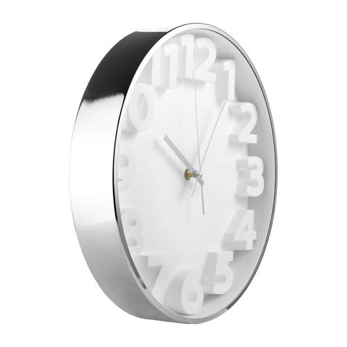 QualityTime 3D White-Silver 34cm2