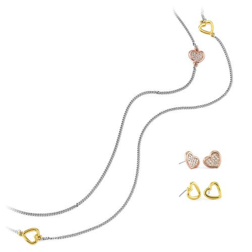 Pierre Cardin PXN6422 - Necklace + 2 Pairs of Earrings