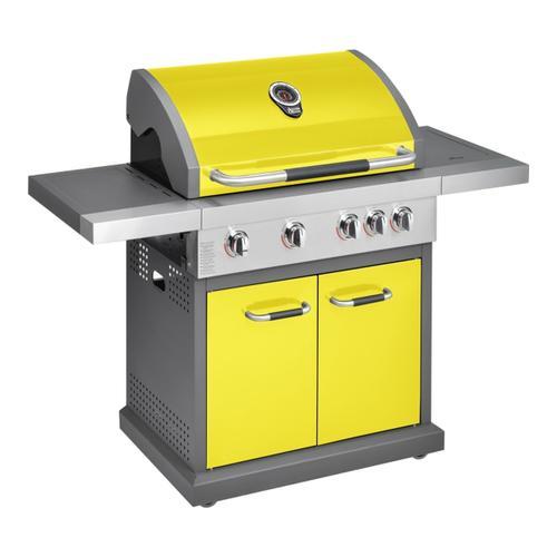 Jamie Oliver - Gas BBQ Pro 4 Burner + Side Burner