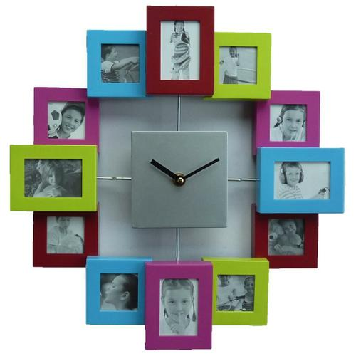 Wall Clock Picture Time Colour