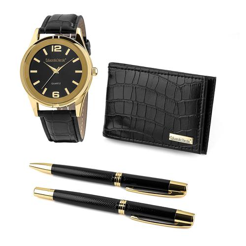 Eduardo Verde - Watch + Pen + Wallet Set