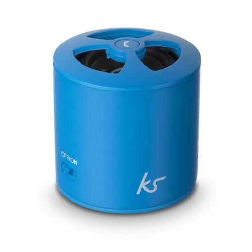 07 Kitsound Mini PocketBoom Bluetooth Speaker Blauw