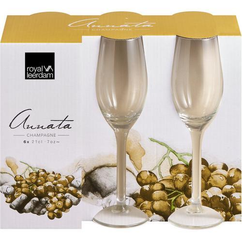 Royal Leerdam - Champagne Glass 21 cl. Set 6 pcs