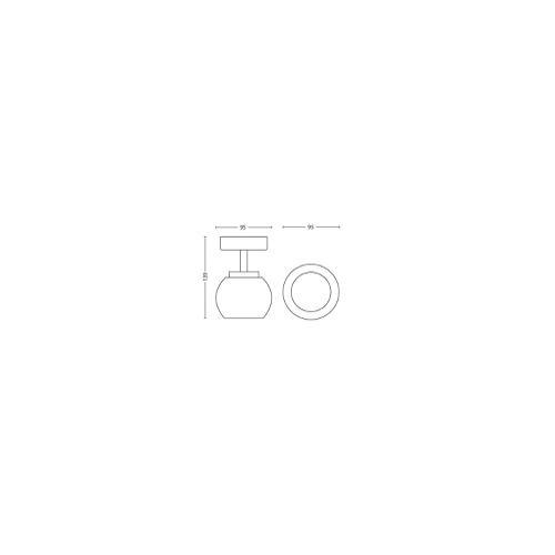 Philips 533201716 - myLiving Balla Spot light