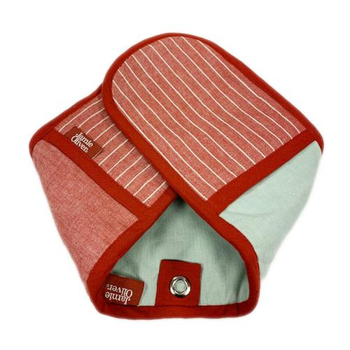 Jamie Oliver - Classic Stripy Double Oven Glove