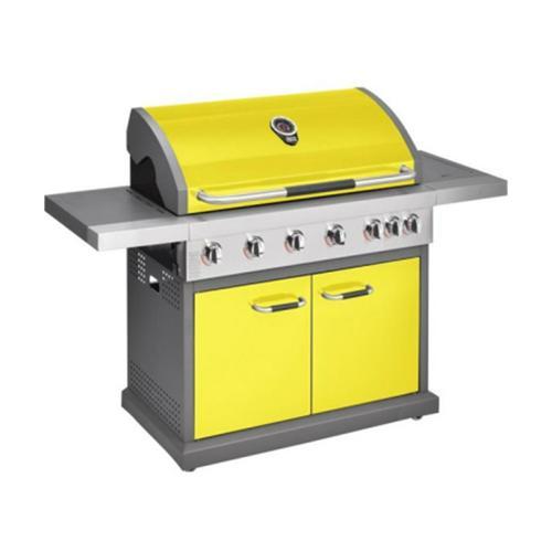 Jamie Oliver - Gas BBQ Pro 6 Burner + Side Burner