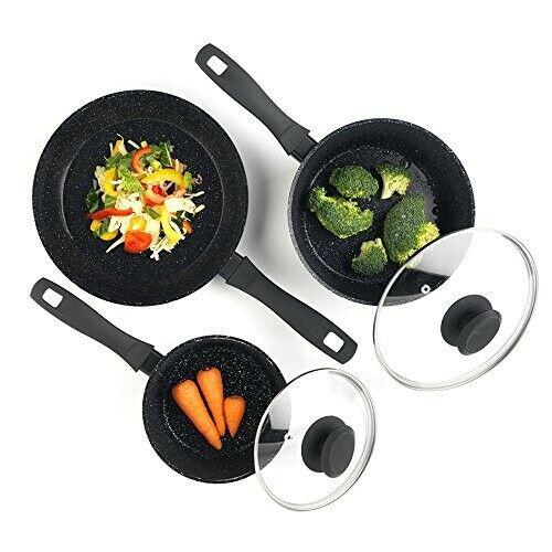 Russell Hobbs BW05743 - 3 Pans Set Stone