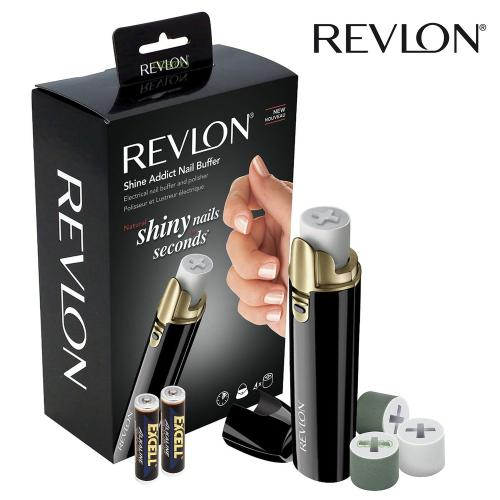 Revlon RVSP3525PK - Nail buffer with soft cutticles