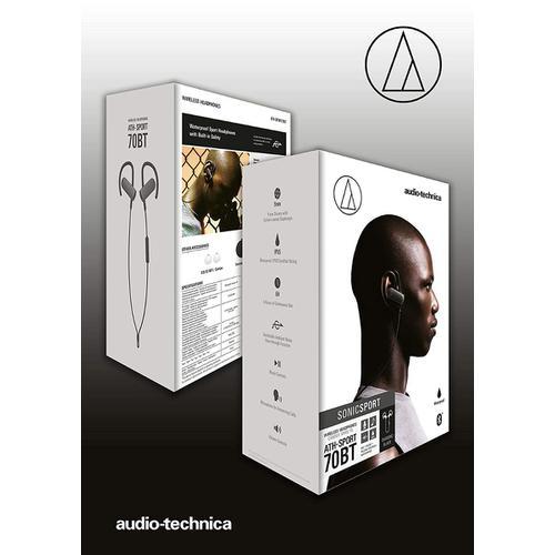 Audio-Technica ATH-SPORT70BT - SonicSport Bluetooth Headphone