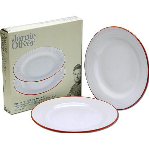 Jamie Oliver - 552799 Dinner Plate 28 cm, Set of 2