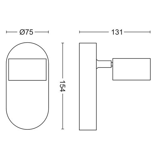 Philips 5056111P0 - Worchester Spot