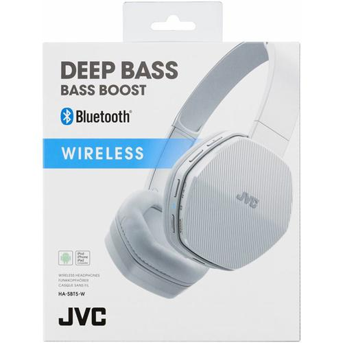 JVC HA-SBT5-W-E - Bluetooth Stereo Headset # White package