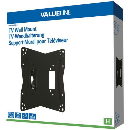 Valueline VLM-MFM10 Flat Panel Muur Steun 66-107cm